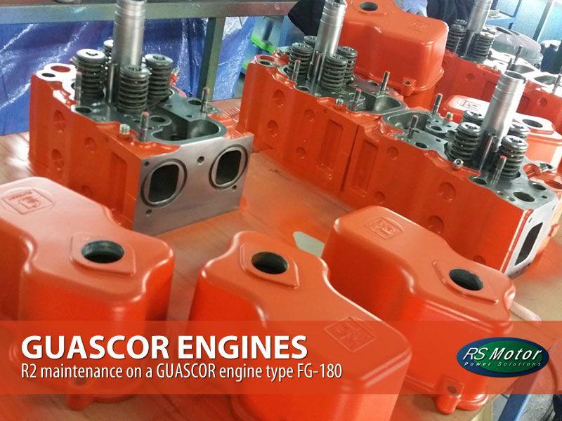 R2-maintenance-on-a-GUASCOR-engine-type-FG-180-mantenimiento-r2-motor-guascor-fg-180